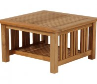 Barlow Tyrie Mission Coffee Table 60cm / 24ins