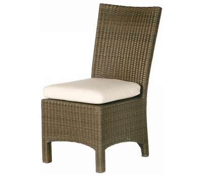 Barlow Tyrie Savannah Dining Side Chair Cushion in Sunbrella