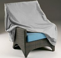 Barlow Tyrie Furniture Cover for Standard Height Deep Seating Armchair