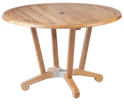 Barlow Tyrie Chesapeake 120cm Round Dining Table