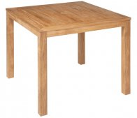 Barlow Tyrie Linear 90cm Square Dining Table