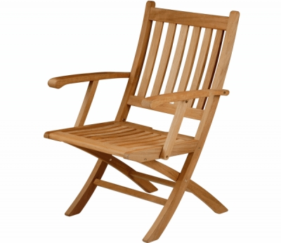 The Carver Dining Chair from Barlow Tyrie Ascot Range